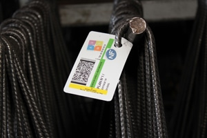 Production and Traceability Labels for Rebars