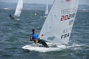 Arma Plus supports Antoine Devineau, French Laser Standard team